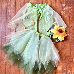 Pottery Barn Kids RARE  Sunflower Tutu Costume 4-6